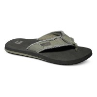 QUIKSILVER MONKEY ABYSS SANDAL GREEN/BLACK/BROWN