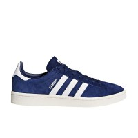 ADIDAS CAMPUS SHOES DKBLUE/FTWWHT/CWHITE