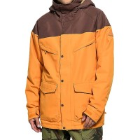 BURTON BREACH SNOW JACKET GOLDEN OAK/CHESTNUT