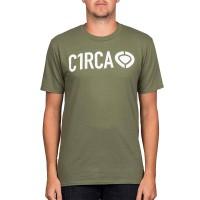 CIRCA DIN ICON T-SHIRT MILITARY GREEN