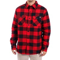 DICKIES LANSDALE L/S SHIRT RED