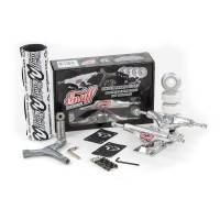 ENUFF DECADE PRO TRUCKS SET POLISHED
