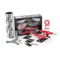 ENUFF DECADE PRO TRUCKS SET RED/BLACK