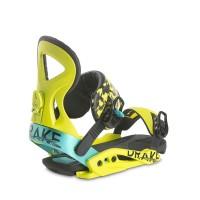 DRAKE JADE W18 W'S SNOWBOARD BINDING ACID YELLOW