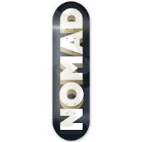 NOMAD RESILIO LOGO DECK BLACK MC 8.375