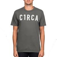 CIRCA TYPE T-SHIRT CHARCOAL