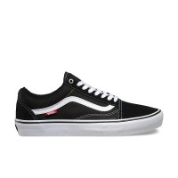 VANS OLD SKOOL PRO SHOES BLACK/WHITE
