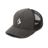 VOLCOM FULL STONE CHEESE CAP CHARCOAL HEATHER