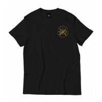 NOMAD WEAPONS TEE BLACK/YELLOW