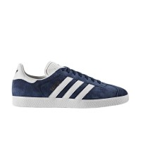 ADIDAS GAZELLE SHOES CONAVY/WHITE/GOLDMT