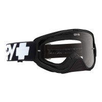 SPY WOOT MX GOGGLE BLACK-CLEAR AFP