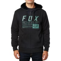 FOX COMPLIANCE SASQUATCH ZIP HOODY BLACK