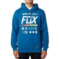 FOX DISTRICT 2 HOODY DUSTY BLUE
