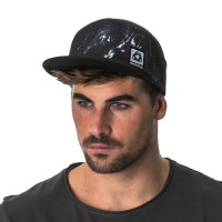 MYSTIC PINCH TRUCKER CAP CAVIAR