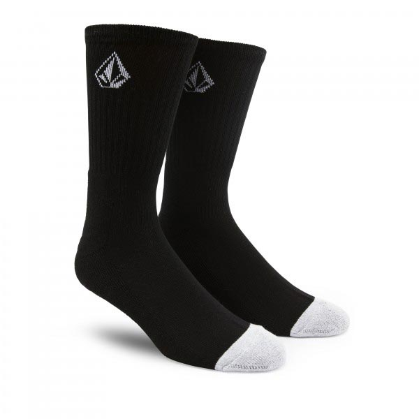 VOLCOM FULL STONE SOCKS BLACK Mens Socks