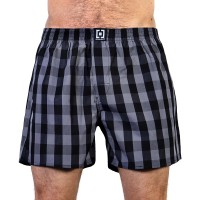 HORSEFEATHERS SIN BOXER SHORTS GRAY