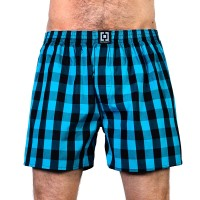 HORSEFEATHERS SIN BOXER SHORTS METHYL BLUE