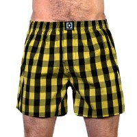 HORSEFEATHERS SIN BOXER SHORTS CITRONELLE