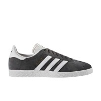 ADIDAS GAZELLE SHOES DGSOGR/WHITE/GOLDMT