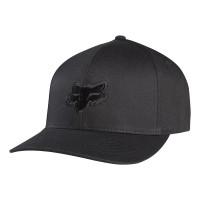 FOX LEGACY FLEXFIT HAT BLACK/BLACK