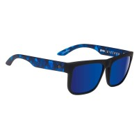 SPY DISCORD SOFT MATTE BLK/NV TORT-HAPPY GRAY GRNwDK BLUE SPEC