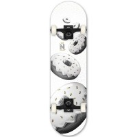 NOMAD TASTY COMPLETE SKATEBOARD BAGEL MC 7.875