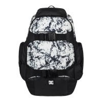 DC WOLFBRED III BACKPACK LILY WHITE STORM PRINT