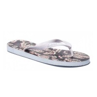 GLOBE PALM SANDALS BLACK/PALMS