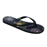 GLOBE HIBISCUS SANDALS NIGHT/WHITE/GREEN