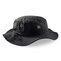NOMAD LOGO BUCKET HAT BLACK