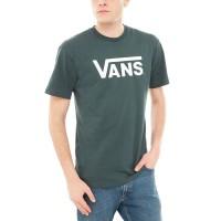 VANS CLASSIC TEE DARKEST SPRUCE/WHITE