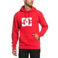 DC STAR HOODIE TANGO RED