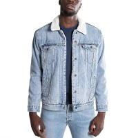 LEVIS TYPE 3 SHERPA TRUCKER JACKET STONEBRIDGE