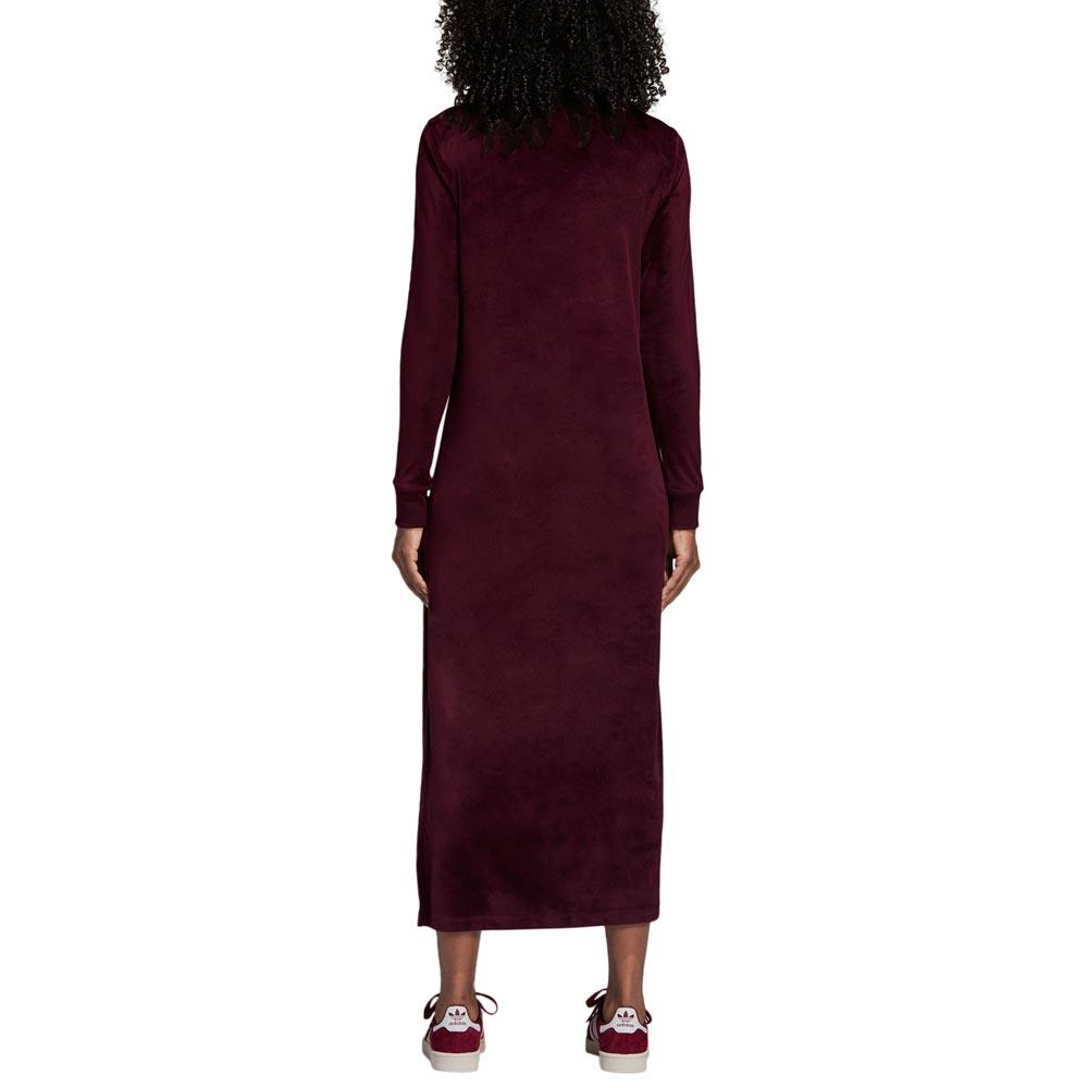 ADIDAS TREFOIL DRESS MAROON 6b91370541a