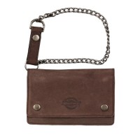DICKIES DEEDSVILLE WALLET WITH CHAIN BROWN