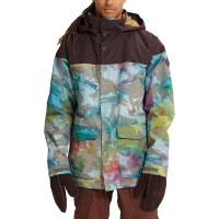 BURTON BREACH SNOW JACKET FESTIVAL CAMO/BLACK COFFEE