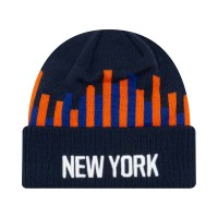 NEW ERA TEAM KNIT BEANIE NEW YORK KNICKS TEAL