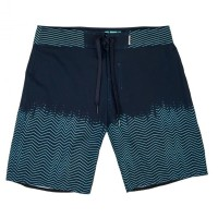 MYSTIC LIGHTNING BOARDSHORT NIGHT BLUE