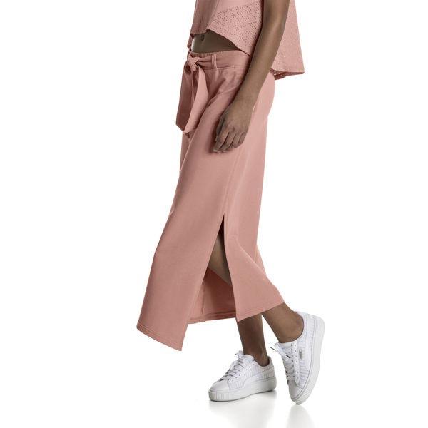 PUMA EVO AIKIDO W PANTS PEACH BEIGE Women Pants