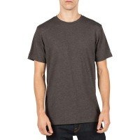 VOLCOM PALE WASH SOLID SS TEE BLACK