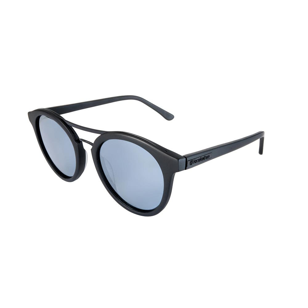 Horsefeathers Horsefeathers Nomad gloss black/mirror blue qsljt7OR