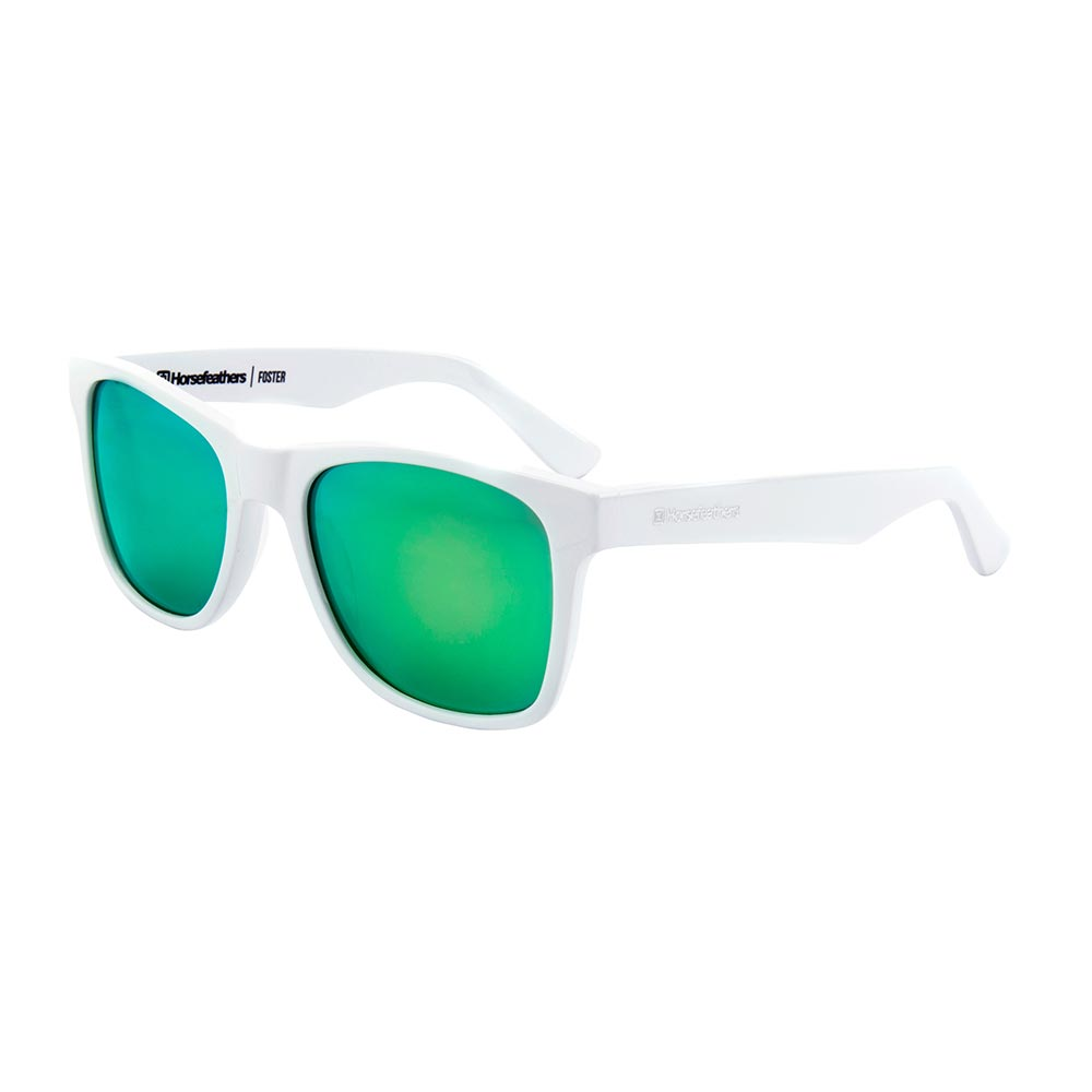 Horsefeathers Horsefeathers Foster Sunglasses zebra/mirror green c0oSv8