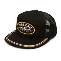 VOLCOM HELLICAN CHEESE CAP BLACK
