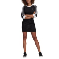ADIDAS 3 STRIPES DRESS BLACK