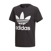 ADIDAS TREFOIL KIDS TEE BLACK/WHITE