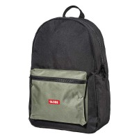 GLOBE DELUXE BACKPACK BLACK/ARMY