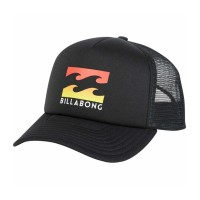 BILLABONG PODIUM TRUCKER BOYS CAP BLACK MULTI