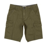 BILLABONG ALL DAY CARGO BOYS SHORTS DARK OLIVE