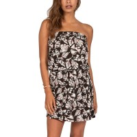 BILLABONG NEW AMED DRESS BLACK PEBBLE