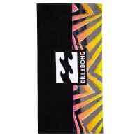BILLABONG WAVES BEACH TOWEL BLACK